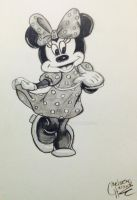 Minnie Mouse by cehavard90