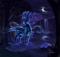 Suicune by Mesrile