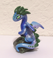 Grossularite Dragon by KingMelissa