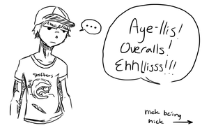 Nick Being Nick by RottenSeahorse