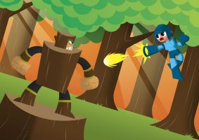 The Blue Bomber by Ollywood