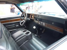 The Interior Of A '72 Oldsmobile 442 W-30 by Brooklyn47