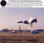 F-4 Phantom braking sound barrier!!! by ProwlLover00