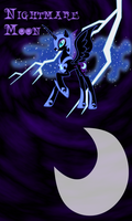 Nightmare Moon Win7Phone BG by TecknoJock