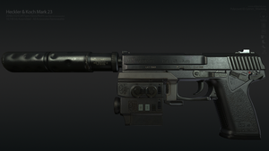 HK MK23 by GrimmWrecking