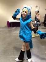 my Rin Cosplay (as a blue fox) by HatsuneMiku012