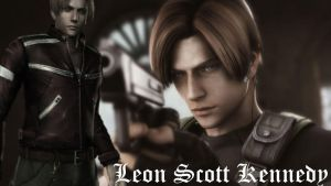 Leon Scott Kennedy BG by DMCREAngel