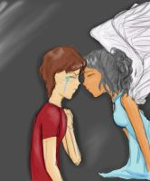 Let me be your angel by catseathedevil