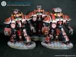 Imperial Knights - Athos, Porthos and Aramis by denofimagination