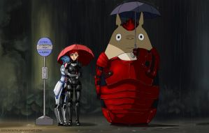 Tonari no Toto...wrex by IzoldeDeith