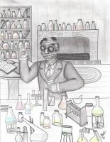 The Invisible Man - for school by MaskedSugarGirl