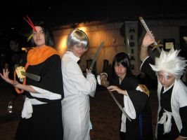 Bleach Group 2-ColossalCon 9 by BleaOneNaruCat17