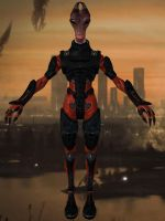 Lieutenant Tolan from Mass Effect 3 for XPS by Melllin