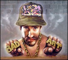BadArt Madafaka by koolkiz