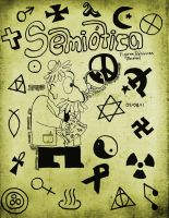 Semiotic Sketchbook Cover by Patt-Ytto