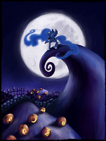My Little Pony - Luna's Lament by kaizerin