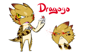 New OC: Dragogo by TaiitheDecepticaon
