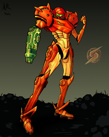 Samus Doodle Colored by Marioshi64