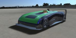 Le Mans inspired Racer by SCADBEEZIE