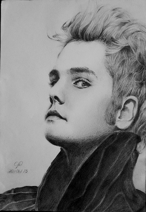 Gerard Way by ierofrank