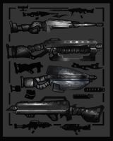 Guns and Accessories by Wolfgan
