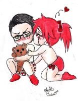 grell and wiru babies by anko86