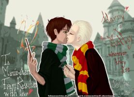 Shonen ai - Harry x Draco by attaC