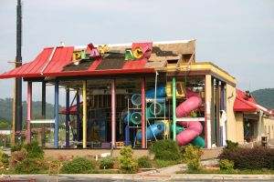 Tornado Demolished McDonalds by poeticthnkr