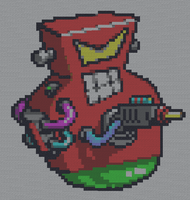 Minecraft - Robo Red by J3ounz