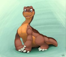 Littlefoot by thazumi