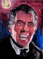Dracula - Christopher Lee by smjblessing