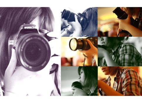 in love with camera by cylep