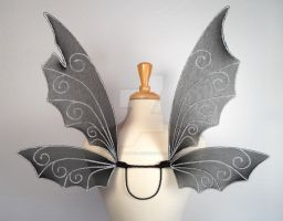 Octavia Gothic Fairy Wings by glittrrgrrl