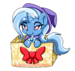 The Great and Powerful mini Trixie by Feneksia-Creations