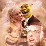 Shrek X Adam Sandler by blimpblimp