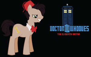 Teh Eleventh Doctor Whooves by TehEleventhDoctor