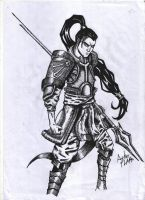 Xin Zhao by Asterflake