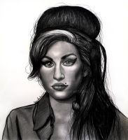 Amy Winehouse by jardc87