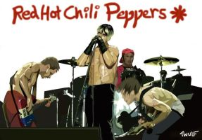 The Red Hot Chili Peppers. by redhotfans
