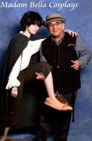 Frodo and Radagast (Sylvester McCoy) by MasterCyclonis1