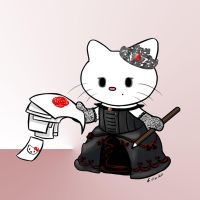 Victorian Gothic Hello Kitty by Zedna7