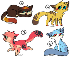 cat adopts - closed by LotsofLittleAdopts