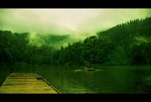 blacklake_dreams by tolgagonulluleroglu