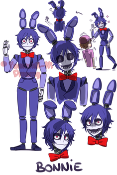 [FNAF HUMAN VERSION]  Bonnie by YumeChii-NI