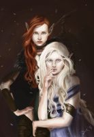 The Mother and the Huntress by Cethlenn