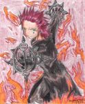 Fired Up Axel by Akuma-Yoru