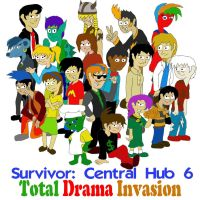 Survivor: Central Hub 6 Cast by SSBFreak