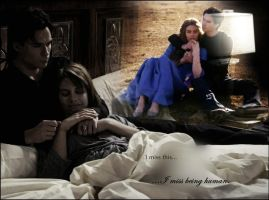 Damon and Rose. by Sophiaroma
