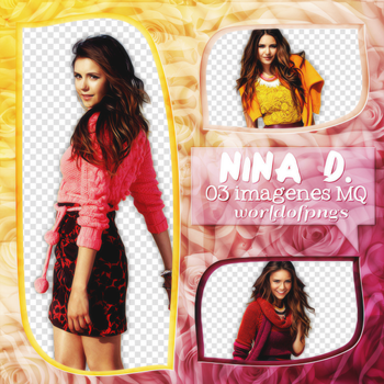 Pack png 81 - Nina Dobrev by worldofpngs