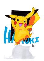 Pikachu for Haruki by innerpeace1979